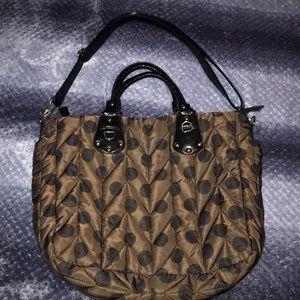 Cute quilted shoulder bag!
